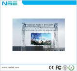 Haciendo publicidad de la pantalla P5.95 al aire libre del LED con la cabina de 500m m de los x 500m