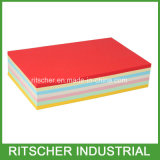 Papel de cópia colorido 8.5X11 de madeira do tamanho da letra da polpa 75g