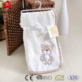 귀여운 아기 담요를 위한 수를 놓은 신생 산호 양털 최고 연약한 직물