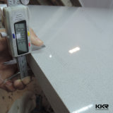 2cm de espessura de pedra de quartzo artificial branco puro para venda