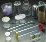 Rectángulo de empaquetado claro del animal doméstico plástico de la bandeja para el cosmético
