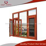 Het Openslaand raam van het Profiel van het aluminium met Blind en het Scherm