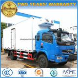 Dongfeng 6 Vervoer van het Voedsel van Wielen het Verse en Vrachtwagen Regrigerated