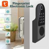 Wafu kein Verkabelungs-im Freienfingerabdruck-Felgen-Verschluss-Chipkarte-Digital-Code-elektronischer Tür-Verschluss für inländisches Wertpapier-Nut-Verschluss