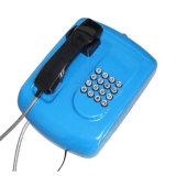 L'acier Cold-Roll Hotlinetelephone Service de la Banque du clavier du téléphone avec plein d'urgence