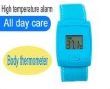 Термометр браслет человеческого тела Термометр Термометр для детей интеллектуальные высокий сигнал температуры термометр браслет лихорадки для взрослых