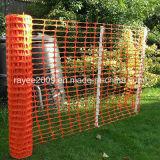 Загородка безопасности продолжительной наградной сети барьера дороги померанцовая пластичная