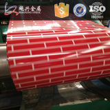 Bobine en acier en aluminium de PPGI enduite d'une première couche de peinture par qualité et de zinc
