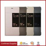 Cas initial de couverture de livre de pochette de cuir de guichet de modèle pour Huawei P9 Lite