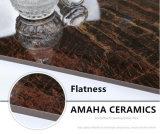 Foshan ficha de edificio completo Material ligero del cuerpo pulido porcelana esmaltada de la baldosa del chocolate (BMG17P)
