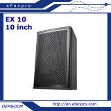 Klassisch ein 10 Zoll-BerufsKonferenzsaal-Lautsprecher aussondern (EX 10)