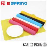 Tapete de tapete de tapete de silicone colorido e funtional