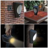 Lumières sans fil solaires d'intérieur de mur de créateur de DEL pour la maison