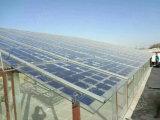 двойная панель солнечных батарей стеклянной крышки 18V (BIPV) 150W-160W