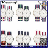 Signora di nylon orologi delle coppie di sport del quarzo della vigilanza di Dw della cinghia di NATO della vigilanza delle donne dell'OEM del fornitore della vigilanza di Yxl-481 Cina