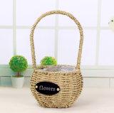 (BC-SF1018) Eco-Friendly Handmade 자연적인 밀짚 꽃 바구니