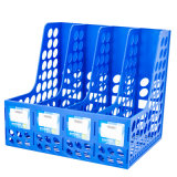 Grande capacidade de 4 Colunas caixa Arquivo de plástico de Desktop