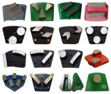 Плита кирпичей конкретного пола диаманта меля меля