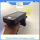 Leitor NFC portátil com padrão IP65, PDA robusto