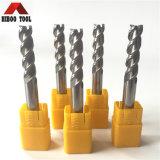 3flautas herramientas de carburo para la transformación de aluminio