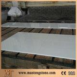 Losa y azulejo de piedra artificiales blancos puros cristalizados nanos de Microlite del panel de cristal
