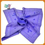 шарф красного цвета 80*80cm Silk для женщин