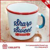 Caneca de café cerâmica grande com logotipo feito sob encomenda