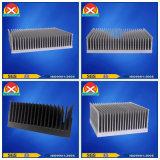 Luft kühlte Selbst abgekühlten Aluminiumstrangpresßling-Kühlkörper ab
