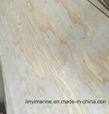 la madera contrachapada gruesa de 1220*2135*9m m irradia la madera contrachapada del pino