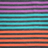 210gsm hilados de distintos colores a rayas jersey de camisetas