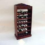 Vino de madera del estante Cubículo 12 Botella en Pine