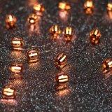 新しいデザイン縞の球の形LED装飾的なライト