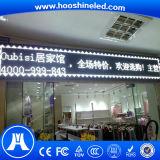 Pantalla de visualización al aire libre de LED del edificio del color blanco excelente de la calidad P10 DIP546