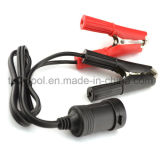 Batterie de voiture Clip-on Cigarette Lighter Socket Adapter 12V