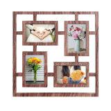 Пластичной Multi рамка фотоего украшения Openning домашней установленная стеной