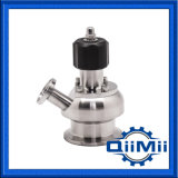 Válvula Germfree asséptica sanitária Ss316L da amostragem do aço inoxidável