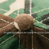 Хлопок просверлите армии /военных зеленой маскировочной летом бейсбола винты с головкой