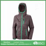 Trilha de vestuário de secar roupa Windbreaker Jacket para Mulheres