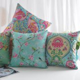Baumwollleinendruck-Sofa-Kissen-Deckel für Wohnzimmer-Möbel