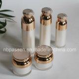 Perlen-weiße kosmetische acrylsauerflasche mit luftloser Pumpe (PPC-NEW-097)