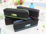 Sacchetto di gomma personalizzato di vendita caldo della matita del PVC della serratura della chiusura lampo di marchio