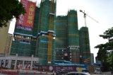 Aufbau-Gebäude-Geräten-hydraulischer Turmkran
