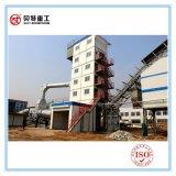 Não móbil 80 toneladas por o equipamento de mistura do asfalto da hora com produtividade máxima
