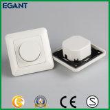 Interruptor mais não ofuscante compatível com uma escala mais larga da luz