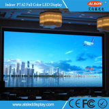Super desempenho P7.62 Tamanho Grande tela de TV LED