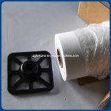 Tessuto su ordinazione impermeabile di bianco della tela di canapa di pittura di Waterbase di vendita superiore