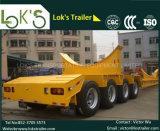 4 Aanhangwagen 22m van Lowbed van assen 120 Ton