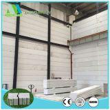 De poliestireno expandible reutilizable de paneles de aislamiento ligero
