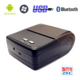 Zkc 8001 3 принтер ярлыка Barcode Bluetooth портативная пишущая машинка дюйма 80mm термально для франтовского приспособления