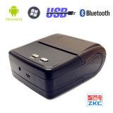 Zkc 8001 3 pulgadas 80 milímetros Portable Bluetooth etiqueta de código de barras de la impresora térmica para dispositivos inteligentes